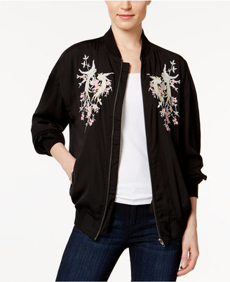 Buffalo David Bitton Embroidered Bomber Jacket $99 thestylecure.com