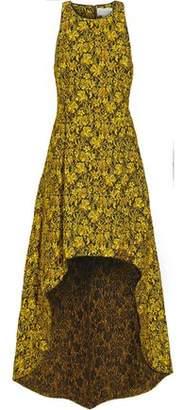 Sachin + Babi Emerald Brocade Gown