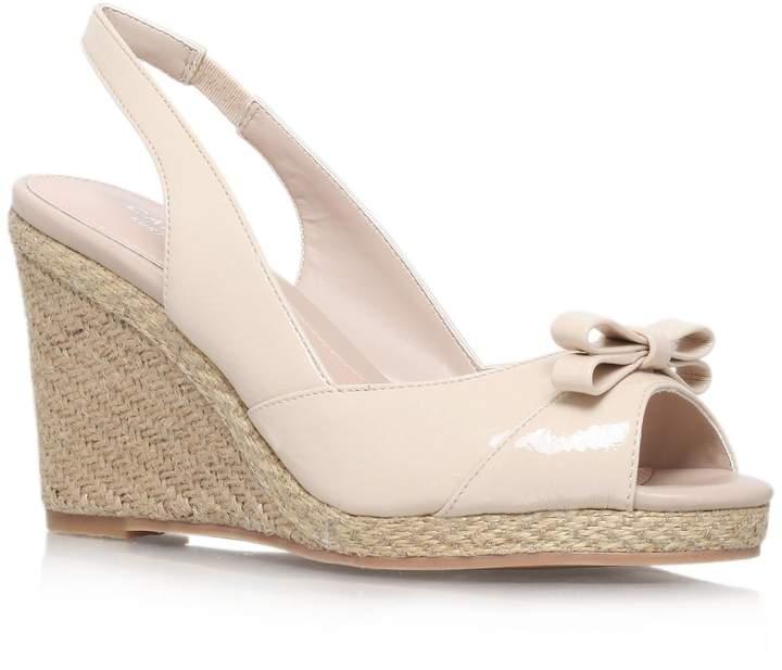 Nude Wedge Heels - ShopStyle Australia