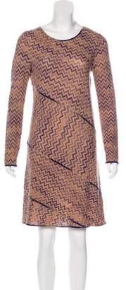 Missoni Wool Chevron Dress
