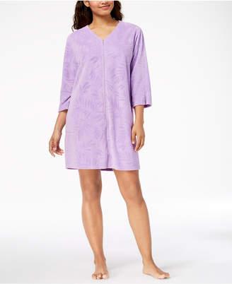 Miss Elaine Terry Knit Short Robe