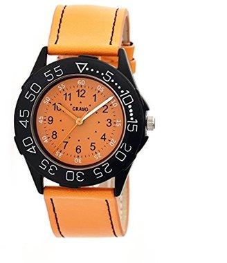 Crayo cr2504 Fun Watch,オレンジ,40 mm,クォーツ