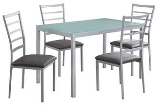 Monarch Specialties 5 Piece Dining Table Set