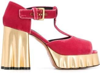 Marni platform T-bar sandals