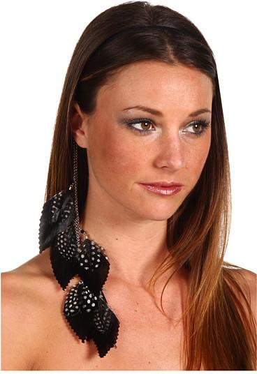 Jane Tran Feather Dangle Headband