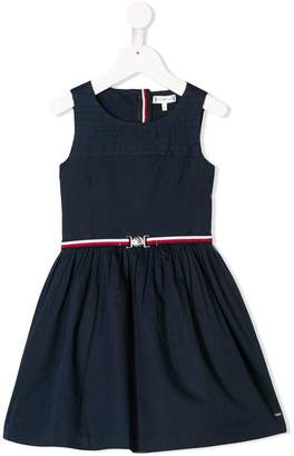 Tommy Hilfiger Junior pleated sleeveless dress