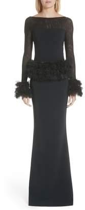 Chiara Boni Bibina Trumpet Gown