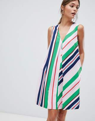 Ted Baker Tunic Dress in Bay of Honor Stripe