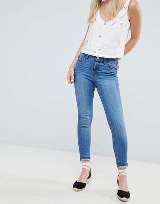 Miss Selfridge Mid Wash Skinny Jeans