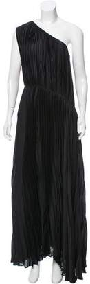 Tome Pleated One-Shoulder Dress w/ Tags