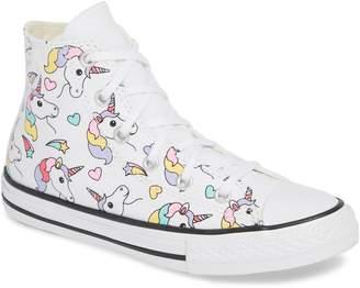 Converse Chuck Taylor(R) All Star(R) Unicorn High Top Sneaker