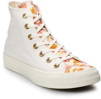 Converse Women's Chuck Taylor All Star Hi Floral High Top Shoes