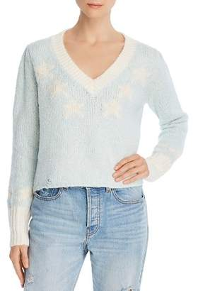 Wildfox Couture Star Girl Cropped Sweater