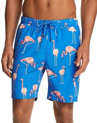 Sovereign Code Cannonball Flamingo Swim Trunks