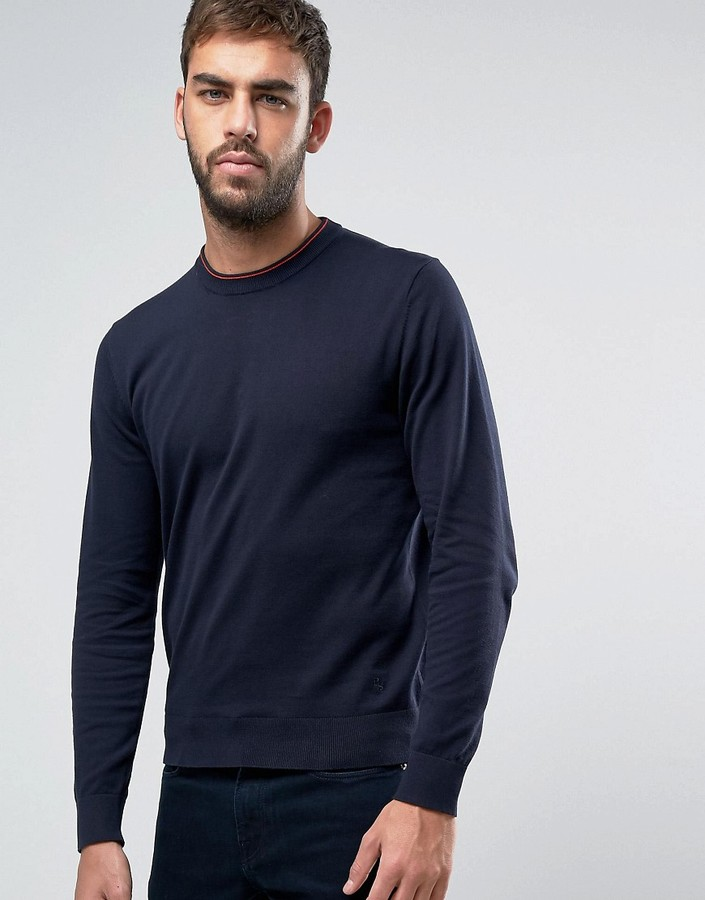 Paul SmithPS by Paul Smith Crew Knit Sweater in Navy