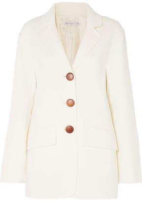REJINA PYO - Maria Wool-blend Felt Blazer - Ivory