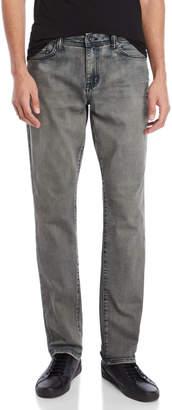 William Rast Beach Stone Dean Slim Straight Jeans
