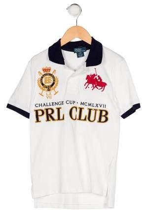 Boys' Embroidered Polo Shirt