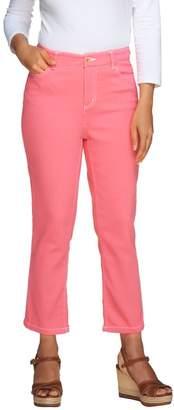 Liz Claiborne New York Petite Hepburn Crop Jeans