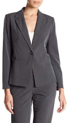 Halogen 'Ela' One-Button Stretch Suit Jacket (Regular & Petite)