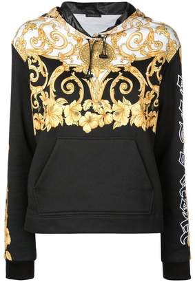 Versace baroque print reversible jacket