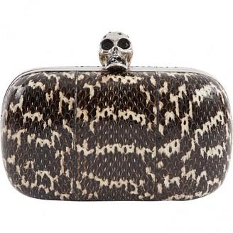 Alexander McQueen Skull clutch bag