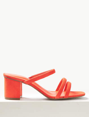 Marks and Spencer Multi Strap Mule Sandals