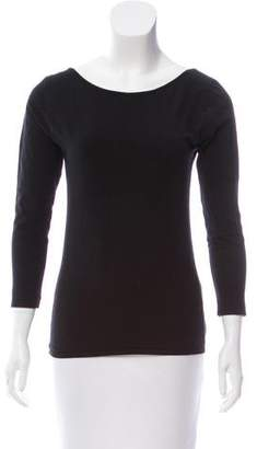 Calypso Long Sleeve Crew Neck Top
