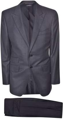 Tom Ford Patterned Suit