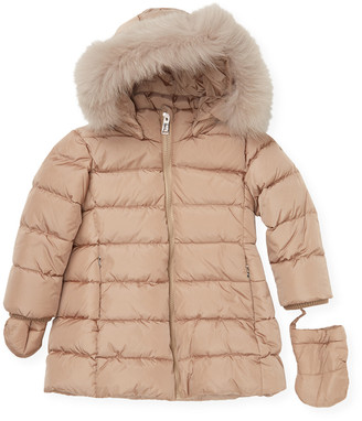 ADD Trimmed Hooded Jacket