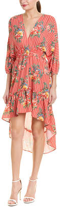Flying Tomato High-Low Midi Dress