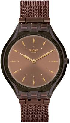 Swatch Skin Skinchoc Stainless Steel Bracelet Analog Watch