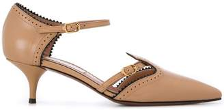 L'Autre Chose ankle strap pumps