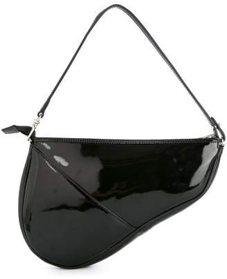 We11done slit pocket shoulder bag