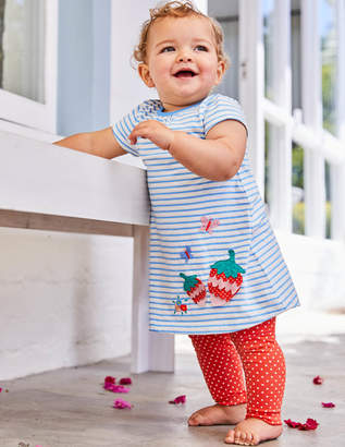 Boden Appliqué Jersey Dress Set