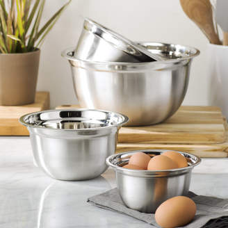 Wayfair Basics Wayfair Basics 4 Piece Stainless Steel Mixing Bowl Set
