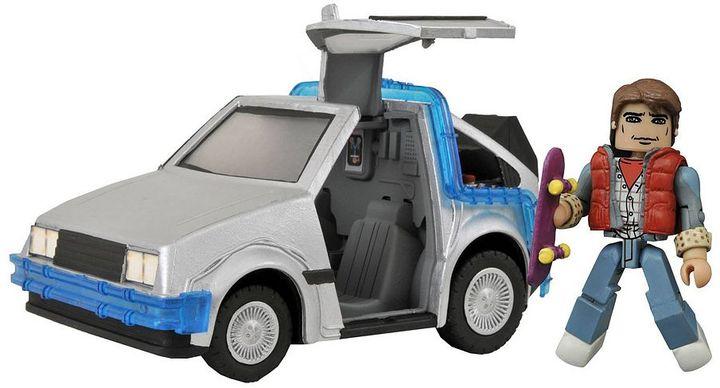 Diamond select toys Back To The Future Minimates Time Machine #1 by Diamond Select Toys