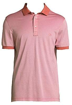 Salvatore Ferragamo Men's Short Sleeve Cotton Polo