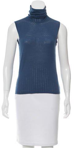 Christian Dior Sleeveless Wool Top