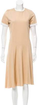 Reed Krakoff Asymmetrical Midi Dress