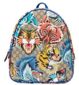 Gucci Kid's Lemon Graphic Backpack