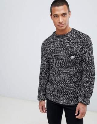Le Breve Thick Knitted Sweater
