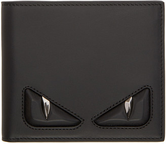 Fendi Black 'Bag Bug' Wallet $500 thestylecure.com