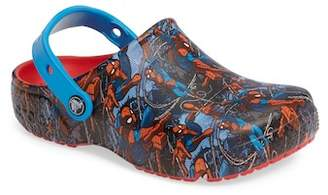 Crocs Fun Lab Spiderman(TM) Clog (Baby, Toddler, & Little Kid)