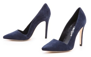 Alice + Olivia Dina Nubuck Pumps