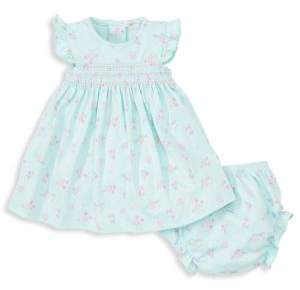Kissy Kissy Baby Girl's Two-Piece Floral Dress& Bloomer Set