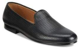 Saks Fifth Avenue Woven Smoking Slippers