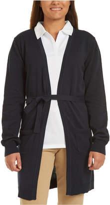 Nautica (ノーティカ) - Nautica Juniors Navy Long Sweater with Tie
