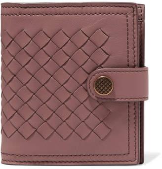 Bottega Veneta Intrecciato Leather Wallet - Pink
