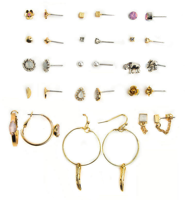 ARIZONA Arizona 15-pc. Earring Set